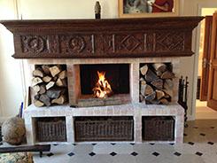 Création de cheminée en bois