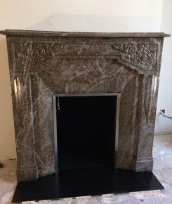 Installation de cheminée