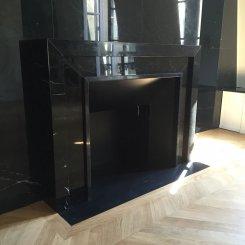 Nos Créations d'architecte : cheminée moderne