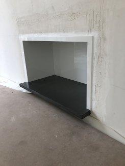 Nos réalisations : cheminée moderne